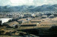 Сереброплавильный завод в Барнауле. Позже здесь работала спичечная фабрика.