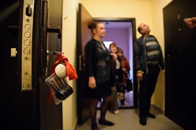 В Халясавэе десять семей справляют новоселье