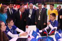 Участники форума рассказали Президенту РФ о своих проектах.