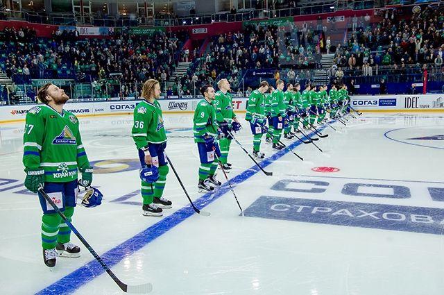 «Салават Юлаев» одержал волевую победу вматче чемпионата КХЛ