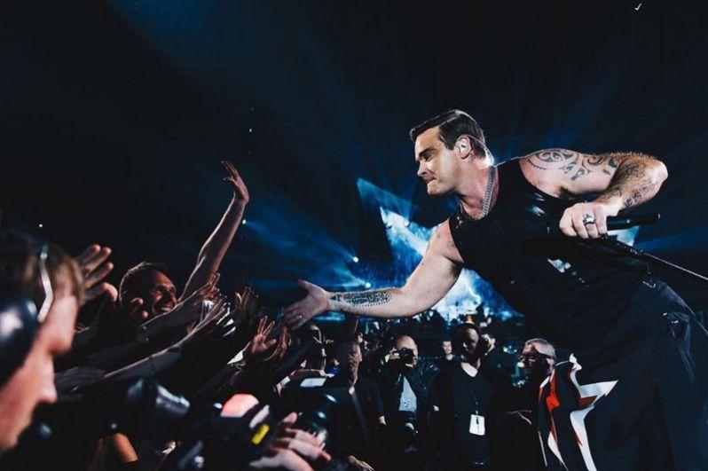 Концерт в Мюнхене в рамках тура The Heavy Entertainment Show, 24 июля 2017 года.