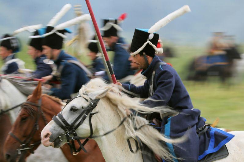 Ежегодно в первое воскресенье сентября на Бородинском поле отмечают годовщину знаменитой битвы.