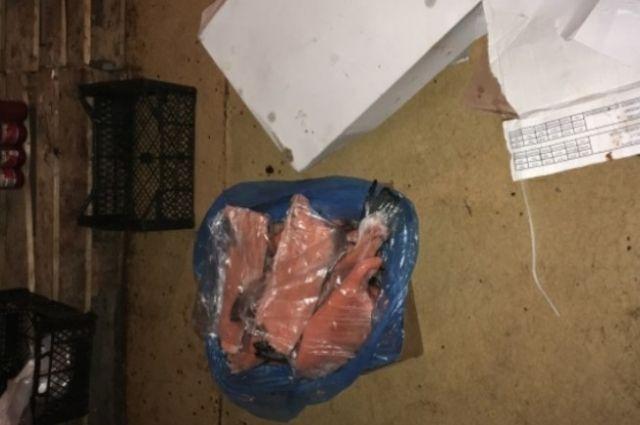 В Оренбурге обнаружено 40 кг контрабандной рыбы из Норвегии и Дании.