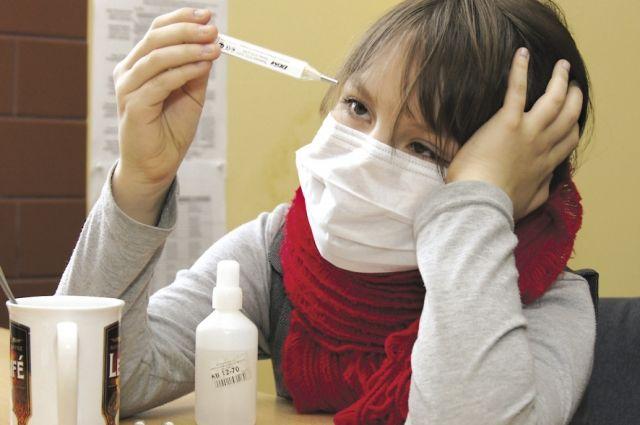 Пока заболеваемость населения ниже эпидемического порога на 24,1 %.