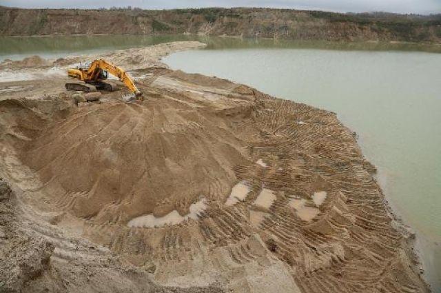 Минприроды области оштрафовало калининградскую фирму на 800 тысяч за незаконную добычу песка