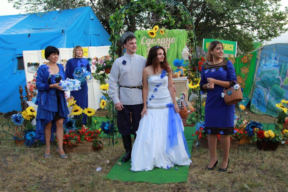 Донская свадьба - театрализованная сценка.
