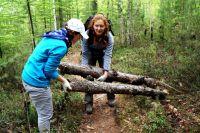 В России активно идут в волонтёрство девушки, а из-за рубежа чаще приезжают мужчины.
