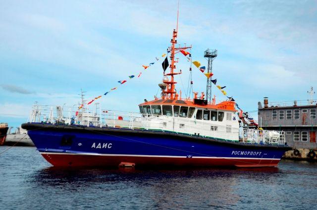 Катер с ледовым усилением будет работать в акватории Чёрного моря