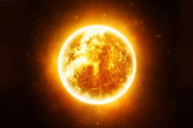 На Солнце произошла сильнейшая вспышка