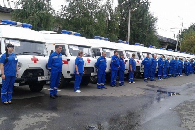 Автопарк Пензенской областной станции скорой помощи пополнился 25 машинами.