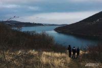 Алуштинское водохранилище.