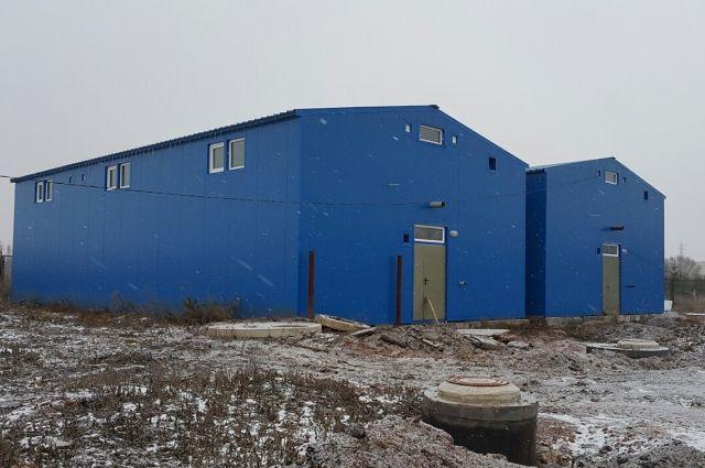 Здания очистных сооружений в Языково