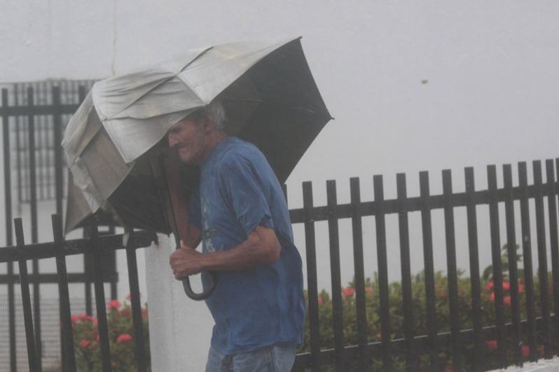 Ураган «Ирма» на острове Пуэрто-Рико.