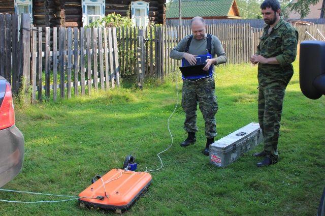Криминалисты во время следственных действий используют современную технику. Например, радар позволяет узнать, что находится под землёй.