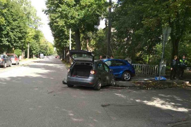 Месячный ребенок пострадал в ДТП в Калининграде.