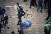 Правоохранители сделали попытку разгона митинга АвтоЕвроСила под Радой