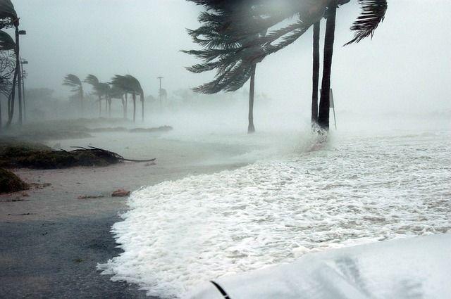 Остров окажется в эпицентре стихии.