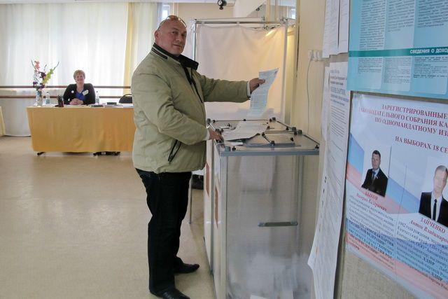 10 сентяря избирательные участки откроются в 8.00.