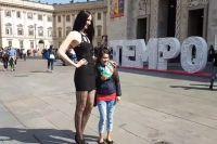 За границей Екатерина Лисина пользуется большой популярностью.