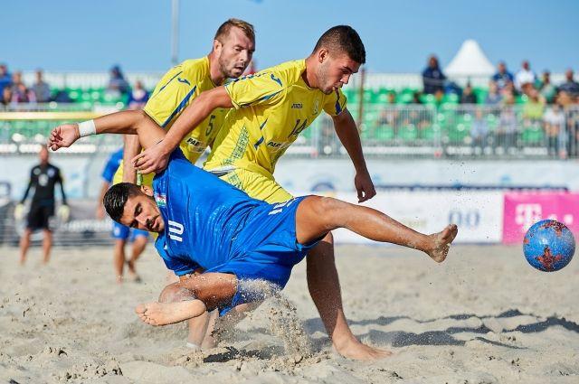 Украина узнала соперников на Суперфинал по пляжному футболу