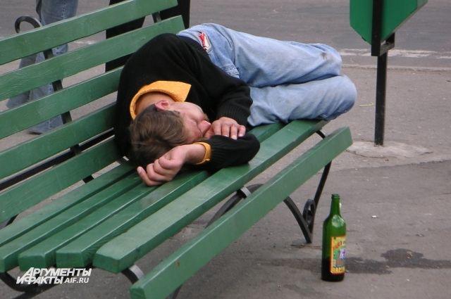 9950 жителей области, страдающих алкоголизмом, состоят на учет.