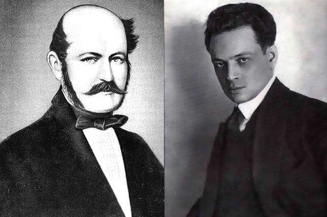 Игнац Земмельвайс и Юрий Тынянов.