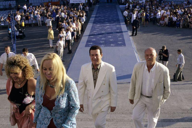 Иосиф Кобзон на Открытом Российском кинофестивале «Кинотавр». 2000 год.