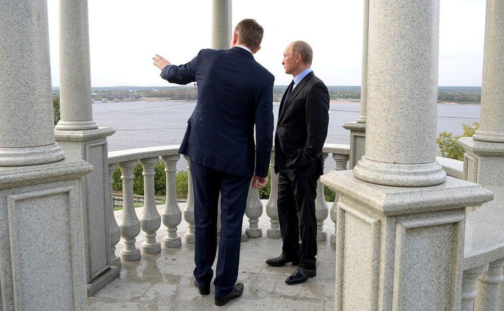 Максим Решетников рассказал Президенту о планах масштабной реконструкции.