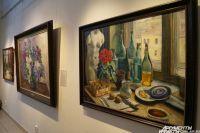 На выставке представлены натюрморты из собрания Третьяковской галереи.