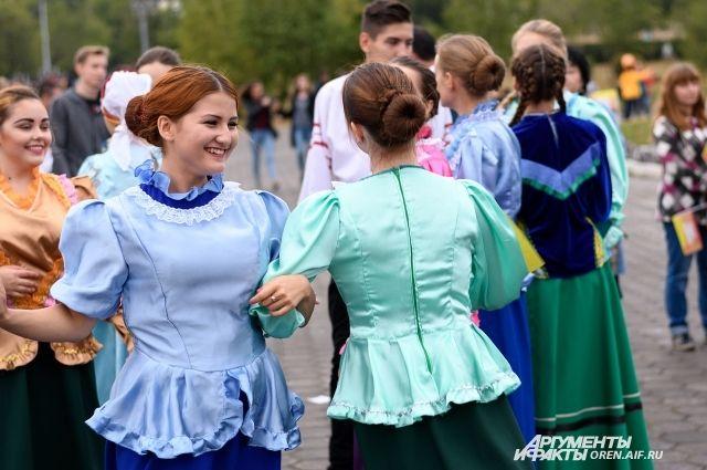 Оренбуржцы впервые отметили День народов области.