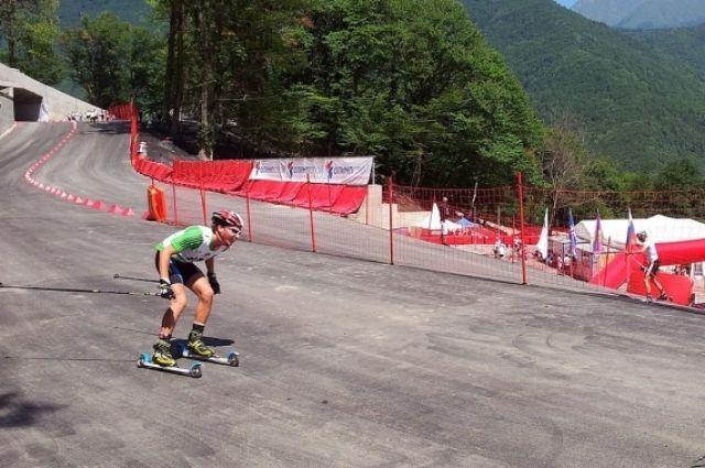 Тюменский лыжероллер занял первое место в гонках свободным стилем