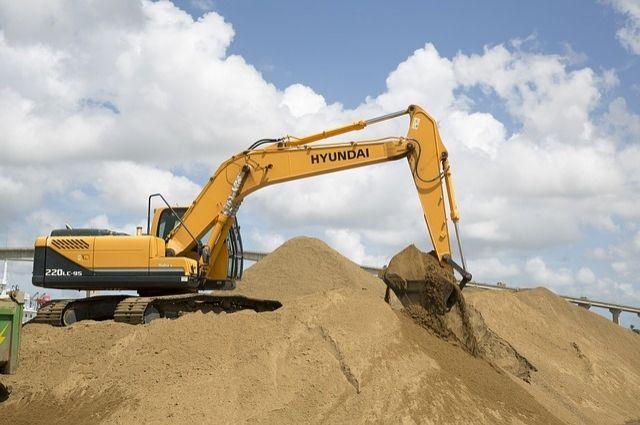 Тюменскую компанию оштрафовали на 800 тысяч рублей за добычу песка