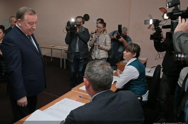 Александр Карлин на выборах