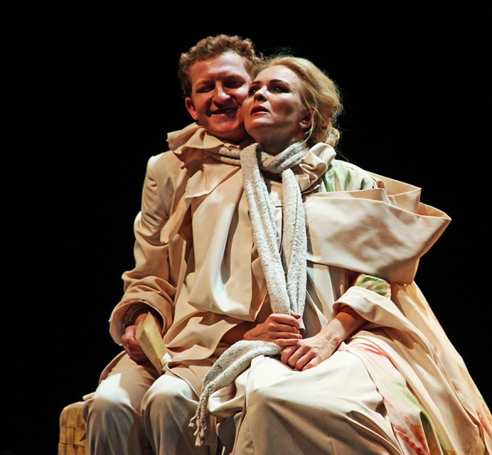 Беллетрист Тригорин и актриса Аркадина. Два сапога - пара...
