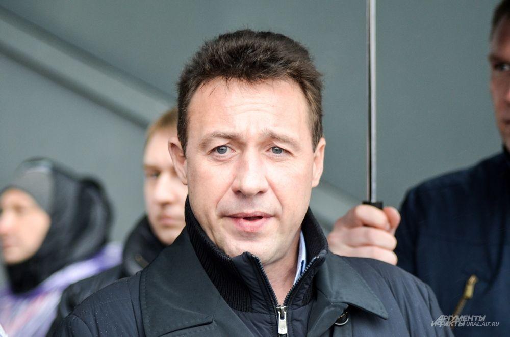 Полномочный представитель Президента РФ в УрФО Игорь Холманских.