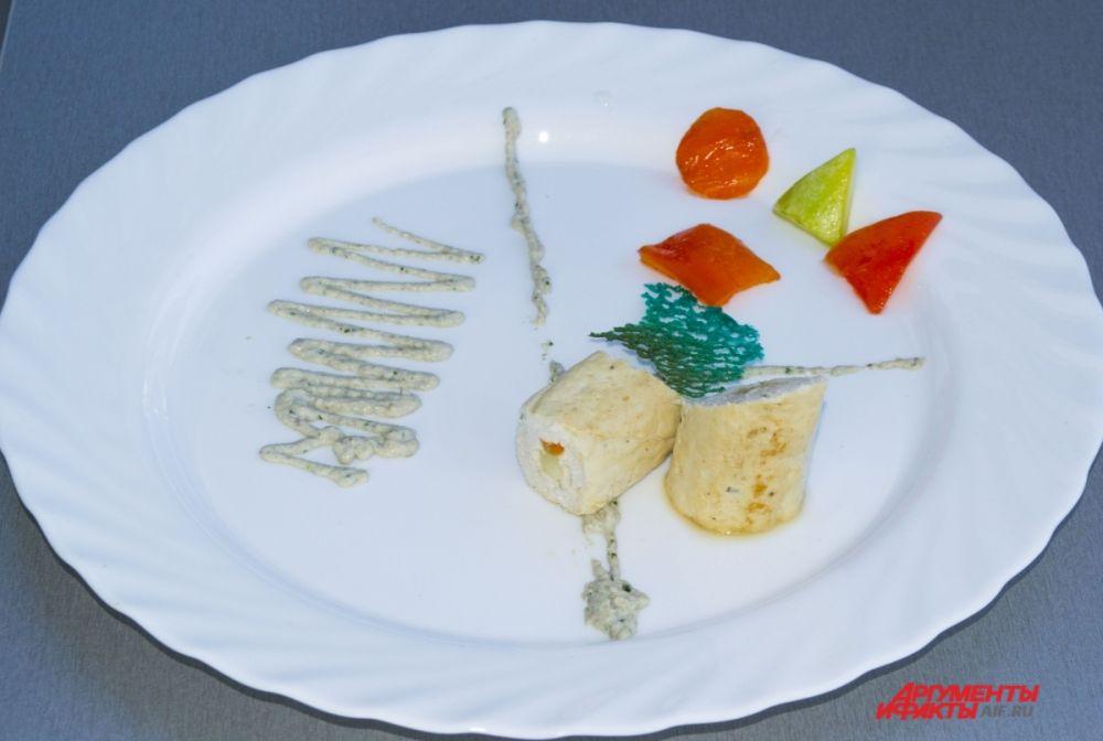 Блюда в ожидании оценки жюри.