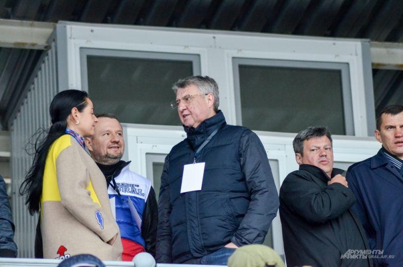 Представитель губернатора Свердловской области в Заксобрании Виктор Бабенко.