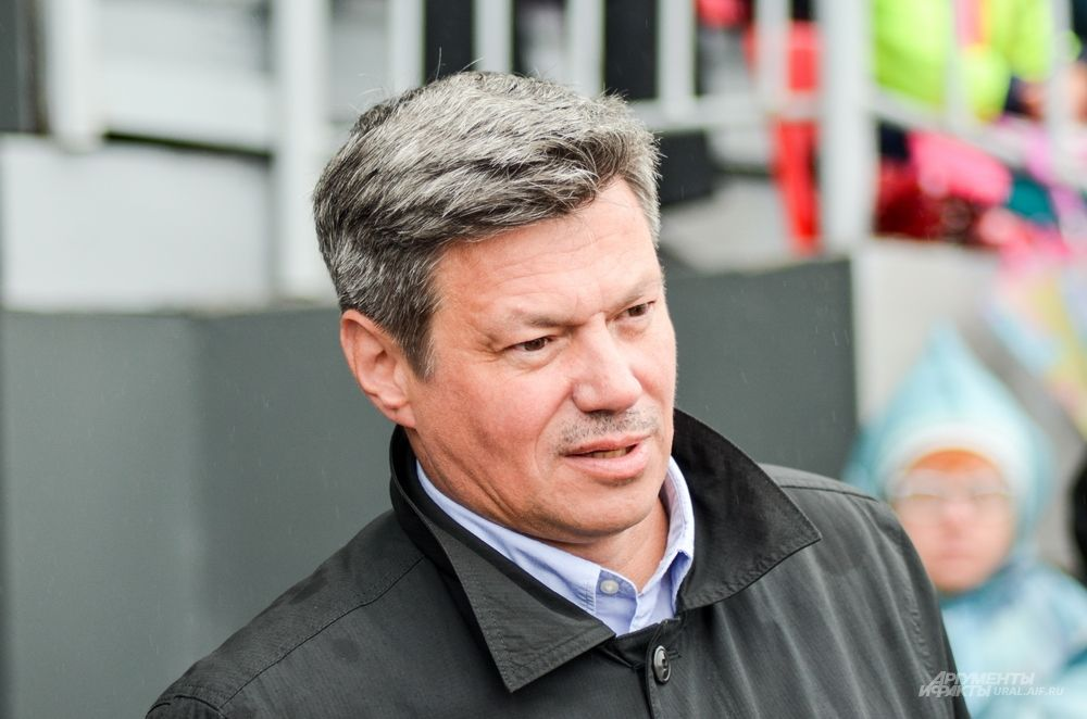 Глава Федерации профсоюзов Свердловской области Андрей Ветлужских.