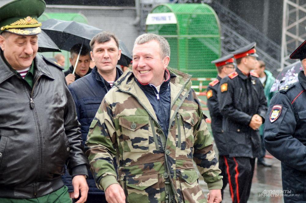 Генерал-лейтенант Михаил Бородин.