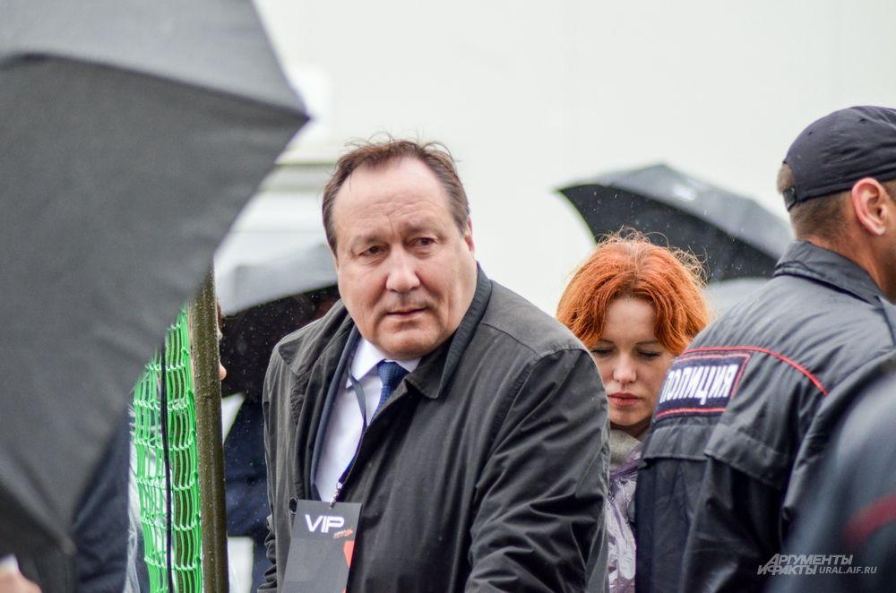 Министр здравоохранения Свердловской области Игорь Трофимов.