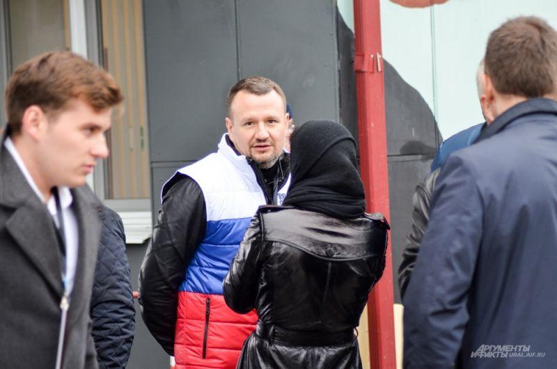 Генеральный директор МВЦ «Екатеринбург ЭКСПО» Игорь Данилов.