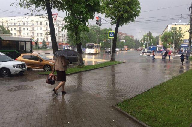 Всю неделю ожидаются дожди.