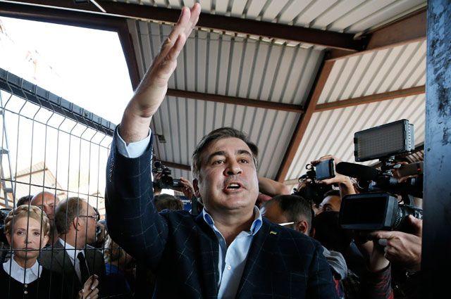 Экс-президент Грузии и экс-губернатор Одесской области Михаил Саакашвили.