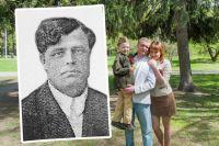 9 мая Корниенко Павел, Лёва и Татьяна ещё не знали, где похоронен прадед Семён Фомич.