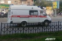 В Оренбурге школьник залез на крышу вагона и получил удар током.