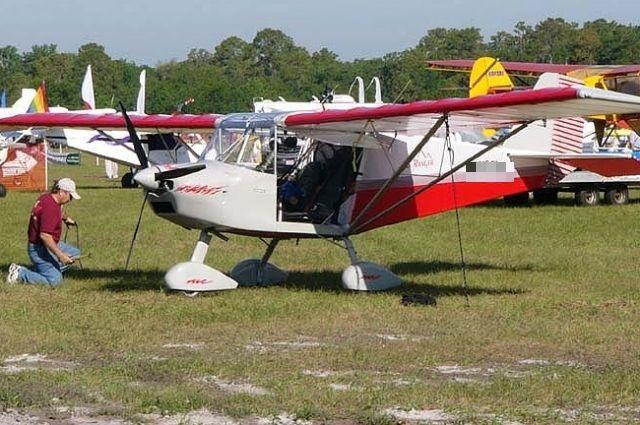 Легкомоторный гидросамолет Sky Ranger.