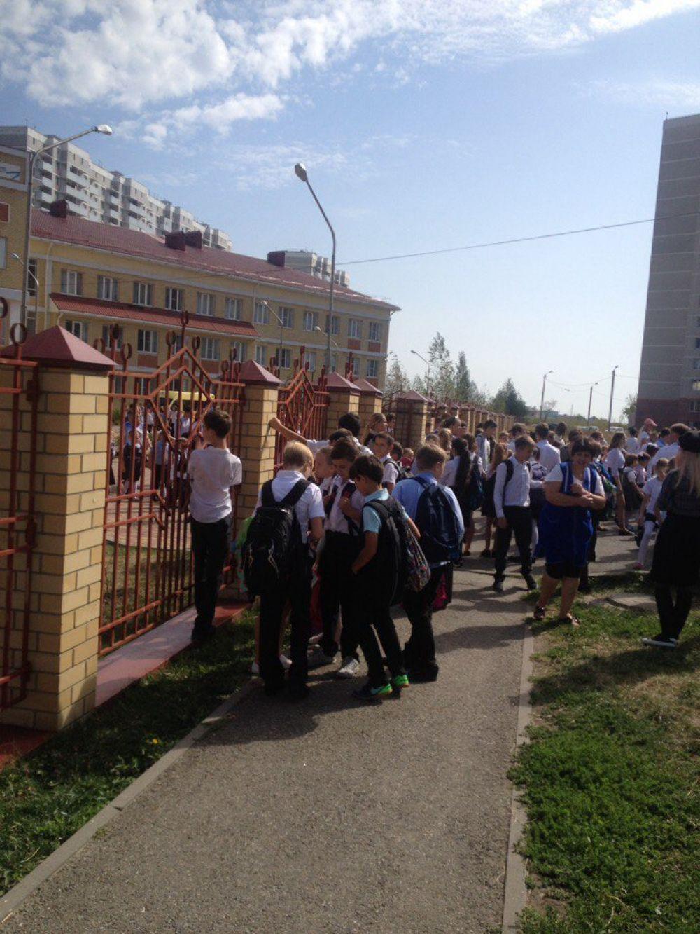 Эвакуация в школе №39 г.Ставрополя