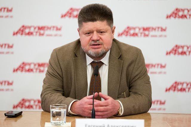 Главный нарколог Минздрава России Евгений Брюн.