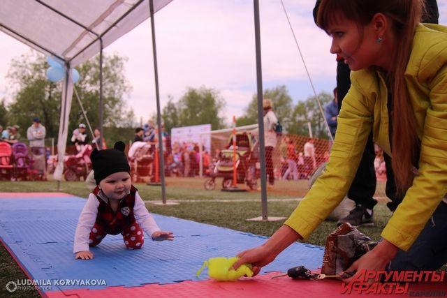 В Яр-Сале состоялись соревнования среди младенцев