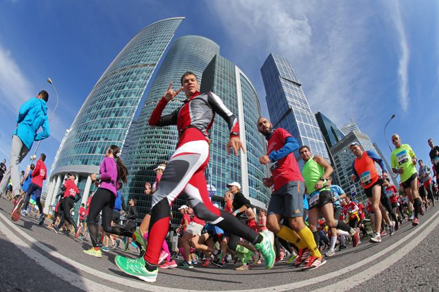 Пятый Московский марафон соберет более 30 тысяч участников